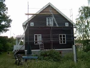 Dagens bild på huset.