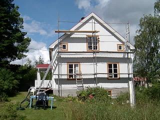 Huset idag 30 juli 2007.