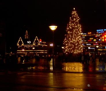 julgranen på rådhuspladsen