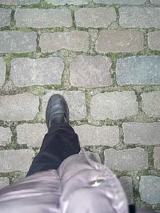 Jag går i Nyhavn.